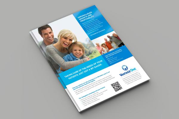 Digital Print Bullseye Marketing Flyer