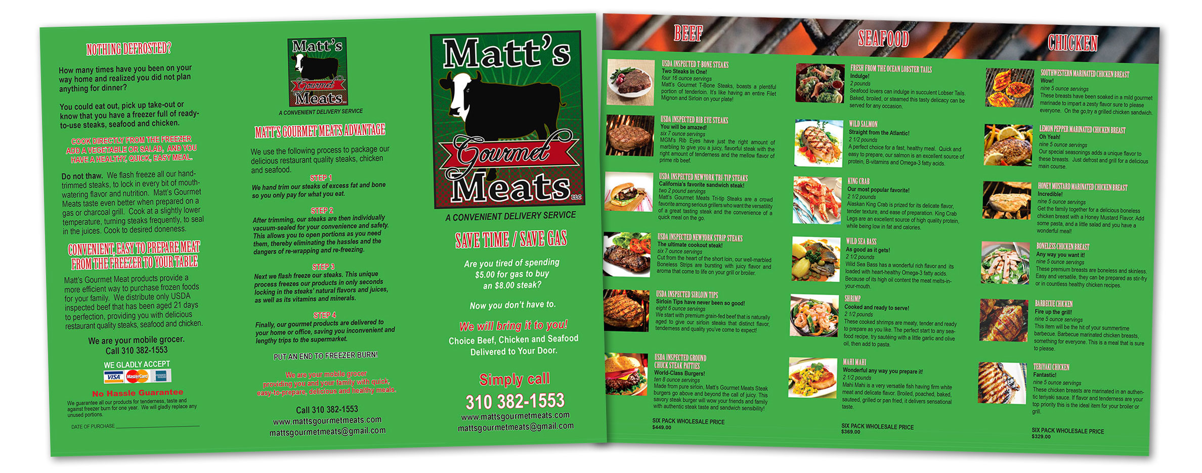 Resturant Menus Print Bullseye Marketing